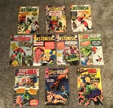 10 Silver Age Tales to Astonish Comic Books 3rd Giant Man 1st Leader & Human Top