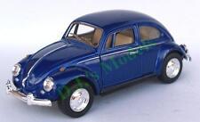 Diecast 1:32 V.W. Volkswagen 1967 beetle in blue (Kinsmart)