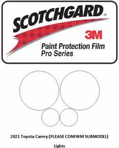 3M SCOTCHGARD PRO Paint Protection Film Jeep WRANGLER 2021 Lights