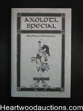 Axolotl Special 1 by John C. pelan (Signed)  (Limited)- High Grade