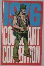 TWO Bronze Age FANZINES ~COMIC ART CONVENTION 1970 & 1976 avg FN+