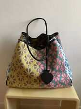 Kate Spade EVERYTHING Spade Flower LARGE TOTE Bag +Pouch Yellow Multi