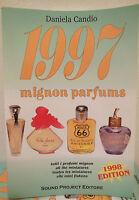 1997 Mignon Parfums di Daniela Candio catalogo fragranze mini profumi campioncin