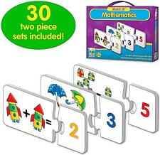 Children Match It Mathematic Educational Puzzle Set Jigsaw Toy With Learning Aid