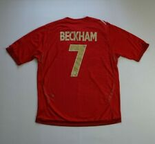 David Beckham #7 2006 2008 England Football Soccer Shirt Jersey Miami Vintage