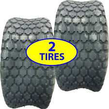 TWO 16x6.50-8 TIRES rough tamer Riding Mower Diamond Stud Tread old Snapper more