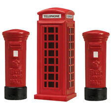 HORNBY Skaledale R8579 R8580 Pillar Box (2pk) and Telephone Kiosk