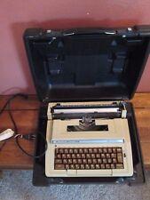 Vintage 1980s Smith-Corona Correction Electric II Portable Typewriter w/ Case