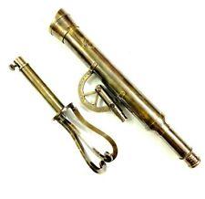 "18"" Brass Antique Telescope Nautical Maritime Collectibles Spyglass Scope Decor"