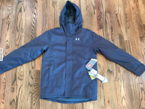 58 Under Armour Infrared Boreal Insulated Ski Jacket Primaloft Mens Sz Medium
