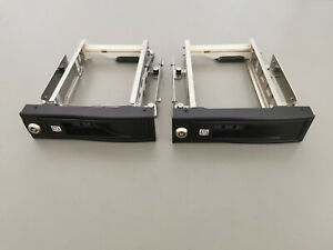"""ICY-BOX IB-168SK-B-A interner Wechselrahmen für 3.5"""" SATA Festplatten HDD (2x)"""