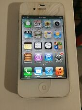 Apple iPhone 4 (32GB - White) with Charging Cable