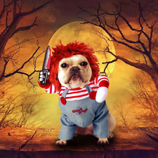 Chucky Dog Funny Halloween Costume Large Chest 80-93 cm