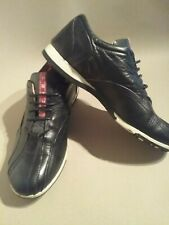 Prada  golf /boles Shoes size 7 /41 black lace up leather 2004 beautifully made