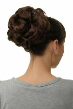 Postiche Cheveux Rose Dutt Chignon Touffue Volume Tresse Brun Moyen Braun Q840-6