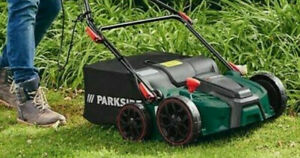 Parkside 2-in-1 Electric Scarifier/Aerator PLV 1500 A1, 1500W, 3600 RPM