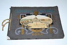 RICORDO DELLA CAPPELLA SISTINA,ROMA 37 QUADRI ANNI 60