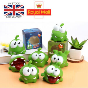 OM NOM Rope Frog Doll Cut The Rope Candy Gulping Monster BB Noise Children Toys