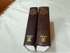 LIBRO DE LAS MIL Y UNA NOCHES / AGUILAR /2 TOMOS / PRIMERA EDICION 1969