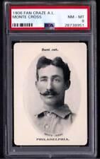 1906 Fan Craze A.L. Monte Cross Athletics Nm-Mt PSA 8