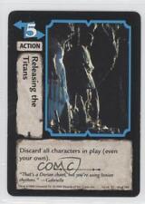 1998 Xena Warrior Princess Collectible Card Game #44 Releasing the Titans 0a1