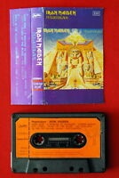 IRON MAIDEN POWERSLAVE 1984 RARE BLACK EXYUGO CASSETTE TAPE
