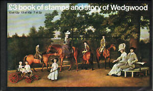 Great Britain #BK145 MNH £3 Wedgwood booklet
