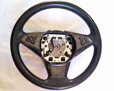 BMW E60 E63 5er 6er Sport Steering Wheel OEM Leather + Carbon/Alu Trim Excellent
