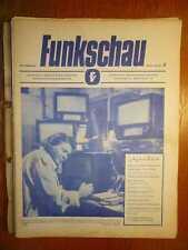 RADIO - Funkschau - Fachzeitschrift für Funktechniker - 12 Hefte 1948