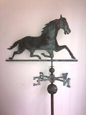 Running Horse Weathervane Antique 19th Century