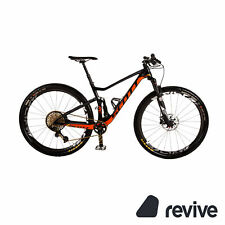 Scott Spark RC 900 SL 2017 Mountainbike Schwarz Orange RG M Fully Fahrrad