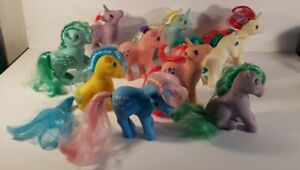 Vintage Generation 1 My Little Pony Bundle(10) From 1983-1984 Hasbro