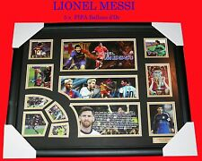 NEW!! LIONEL MESSI 5 x FIFA BALLON d' Or,  SIGNED FRAME,  LIMITED EDITION w/ COA