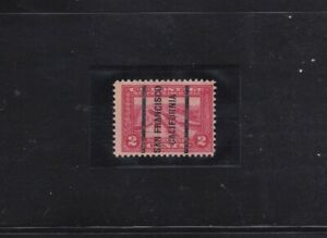 1913 PANAMA-PACIFIC ISSUE / PRE-CANCELLED MINT / SCOTT #398 / MNH