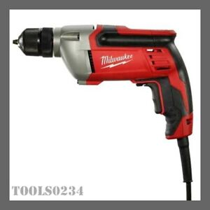 """3/8"""" Corded Drill with Keyless Chuck - 8 Amps Milwaukee 0240-20"""