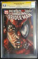 Amazing Spider-Man #570 Marvel CGC 9.8 White Pages Ross Variant 1st Anti-Venom