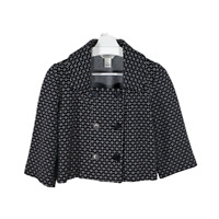 White House Black Market Womens Blazer Jacket Swing Coat 3/4 Sleeve Work Size 4