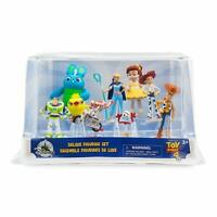 Disney Toy Story 4 Deluxe Figurine Figure Figures Set of 9 Toy Playset