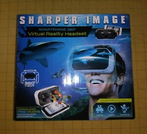 Sharper Image Smartphone 360° Virtual Reality Headset for Android or iOS