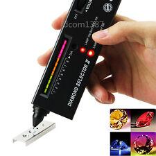 Diamond Selector II Tester Gemstone Moissanite Jewelry Jewellery Tool LED Audio
