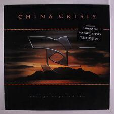 CHINA CRISIS: What Price Paradise LP (inner sleeve, slight corner bend, title t