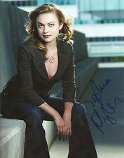 "Sophia Myles SIGNED 8""x10"" DR. WHO Photo autograph Transformers 4 COA PROOF"