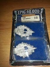 Juegos taller Warhammer Epic 40k Eldar Onda serpientes Paquete Sellado, pero usado fuera de imprenta