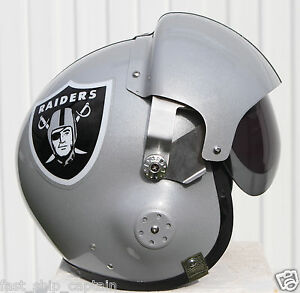 Oakland (Las Vegas) Raiders Pilot Helmet Football Derek Carr Marshawn Lynch