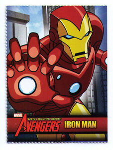Ironman Iron Man Iron-Man sample promo trading card The Avengers Marvel Disney