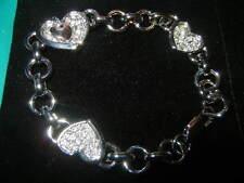Swarovski Crystal Charm Link Bracelet. Lot Of 5 Quantity