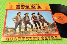 QUARTETTO CETRA LP NON CANTARE SPARA ORIG 1968 EX+ PROMO LAMIANTED COVER