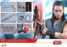 Hot Toys 1:6 Rey (Jedi Training) Star Wars: The Last Jedi Movie Figure MMS 446