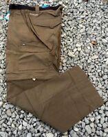 NWT Columbia Men's Silver Ridge Convertible Pants Major 38 x 32 MSRP $60