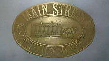 WALT DISNEY WORLD DISNEY  MAIN STREET TRASHCAN PLAQUE SIGN.